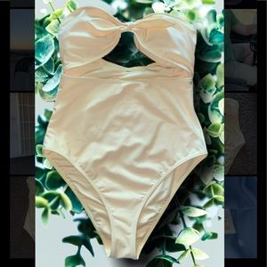 Other - Yellow One Piece Swimsuit
